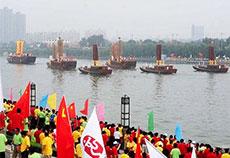 北京奥运仿古肪船